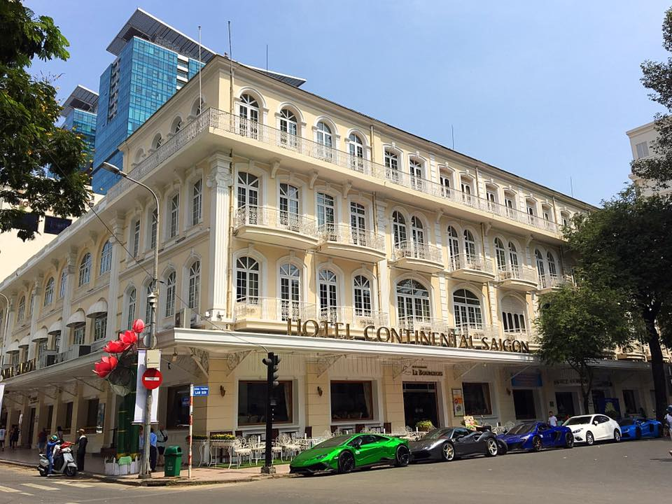 Отель Continental, Хошимин