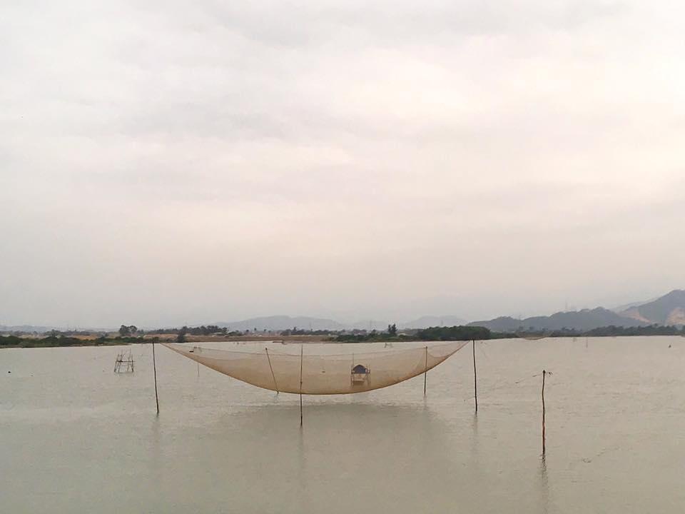 Традиционные вьетнамские рыболовецкие сети