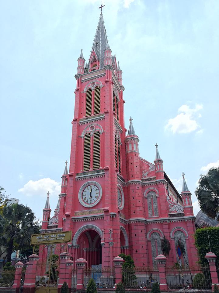 Церковь Tan Dinh, Хошимин