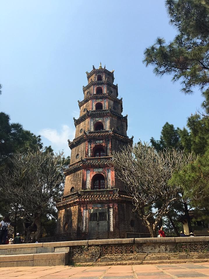 Пагода Небесной феи (Thien Mu Pagoda), Хюэ