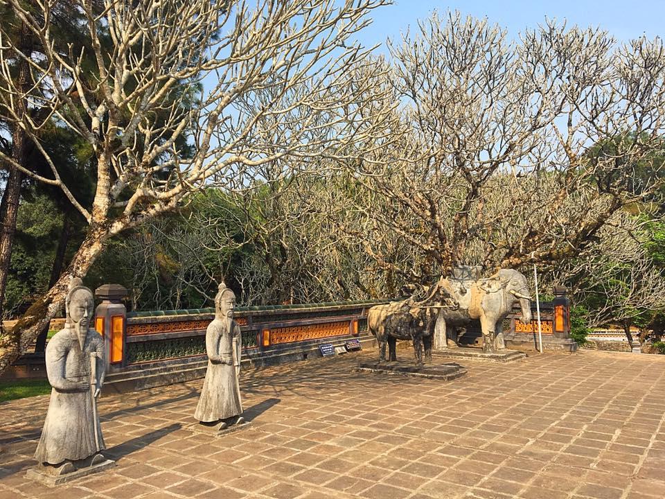 Гробница императора Ты Дык (Tu Duc), Хюэ