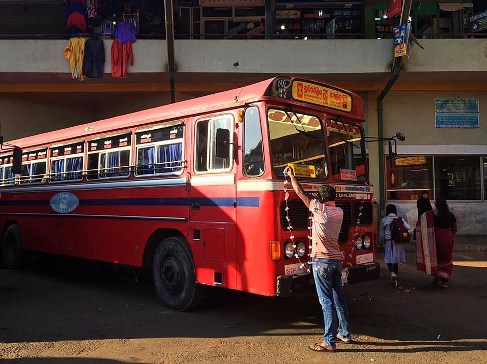 Автобус Нувара-Элия - Галле, Шри-Ланка