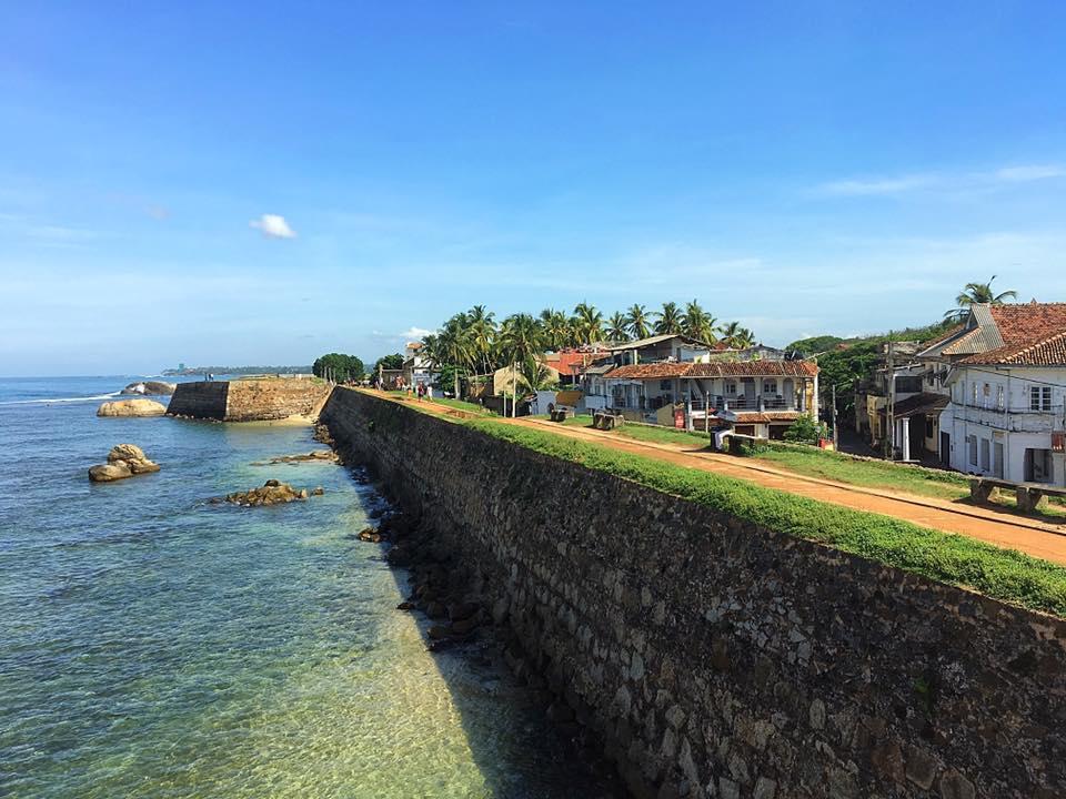 Море под стенами форта Галле