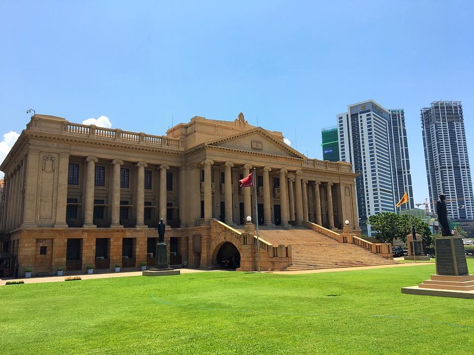 Президентский дворец в Коломбо