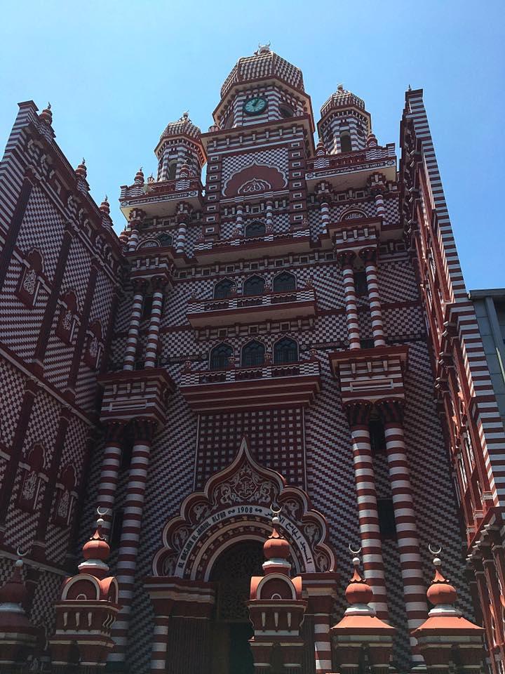 Красная мечеть в Коломбо
