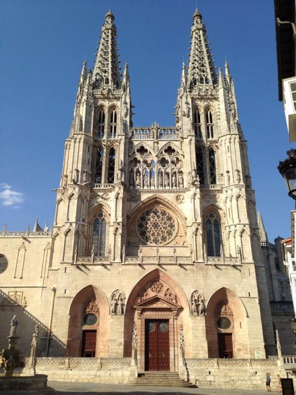 Кафедральный собор Богоматери в Бургосе